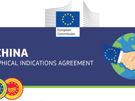 End of negotiations between the EU and China on the protection of geographical indications