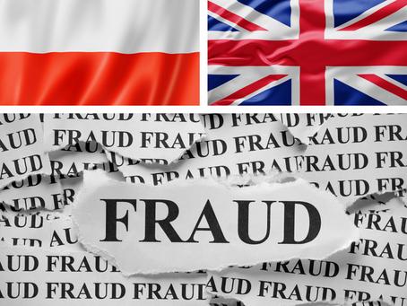 Różnice w zwalczaniu fraudów w Polsce i Wielkiej Brytanii