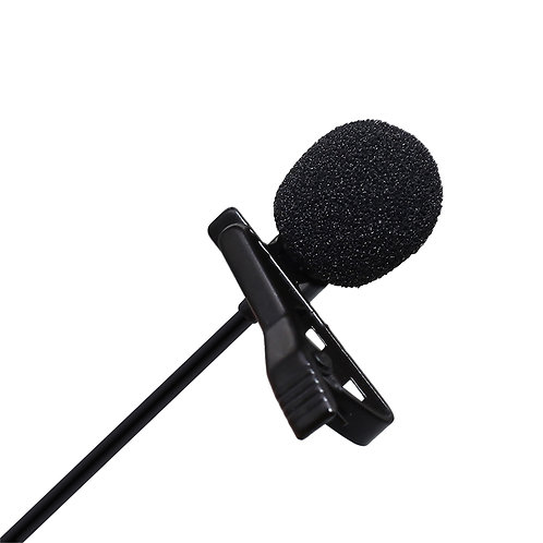 Profesyonel Youtuber Kablolu Yaka Mikrofonu