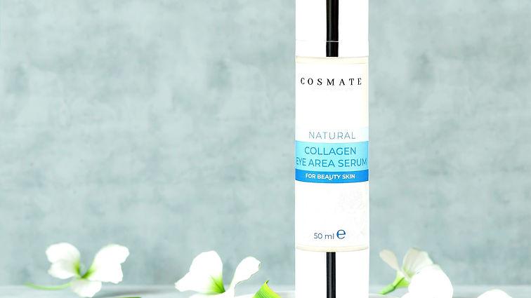 cosmate,göz çevresi serumu, serum, eye area serum,natural,doğal,kolajen, collagen