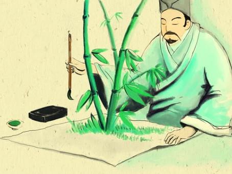 Idiom Mandarin: 胸有成竹 (xiōng yǒu chéng zhú)