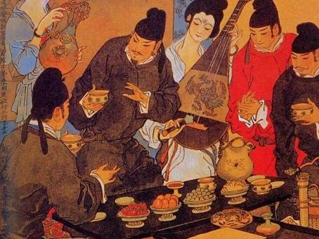 Puisi Li Bai: 金陵酒肆留别 (Pesta Perpisahan di Kedai Arak Jinling)