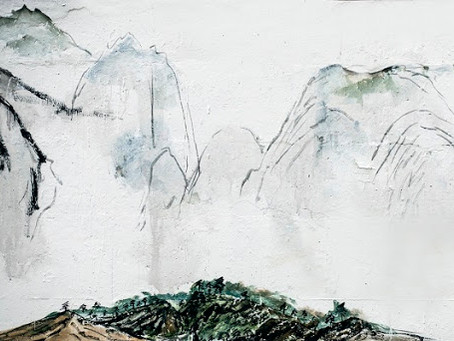 Puisi Li Bai: 獨坐敬亭山 (Duduk Menyendiri di Gunung Jingting)