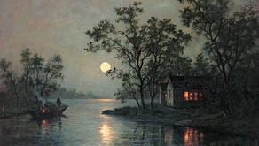 Puisi Li Bai: 靜夜思 (Renungan Malam)