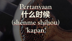 Tata Bahasa: Pertanyaan 什么时候 (shénme shíhou) 'kapan'