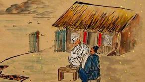 Puisi Li Bai: 山中與幽人對酌兩人對酌 (Minum Bersama Pertapa Gunung)