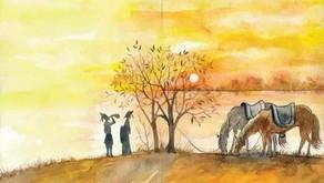 Puisi Li Bai: 送友人 (Mengantar Sahabat Pergi)