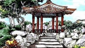 Puisi Li Bai: 勞勞亭 (Paviliun Laolao)