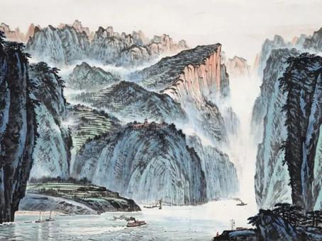 Puisi Li Bai: 早發白帝城 (Berangkat dari Kota Baidi di Pagi Hari)