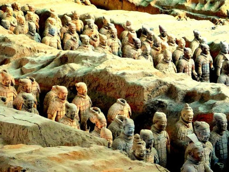 Pasukan Terakota Penjaga Kaisar Qin di Alam Baka