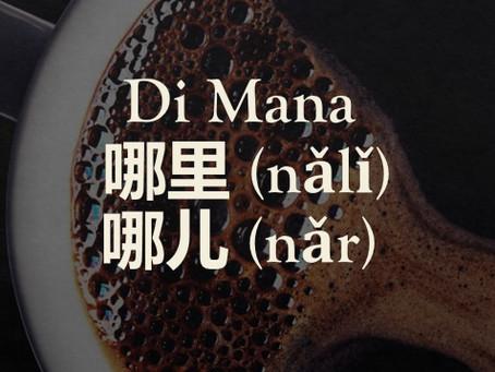 Tata Bahasa: Pertanyaan Di Mana (哪里 (nǎlǐ) / 哪儿 (nǎr)