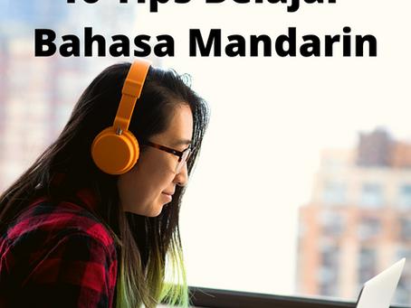 10 Tips Belajar Bahasa Mandarin