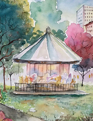 Carousel in the Park