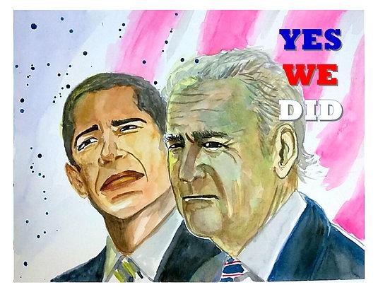 Obama & Biden - YWD Commemorative Print