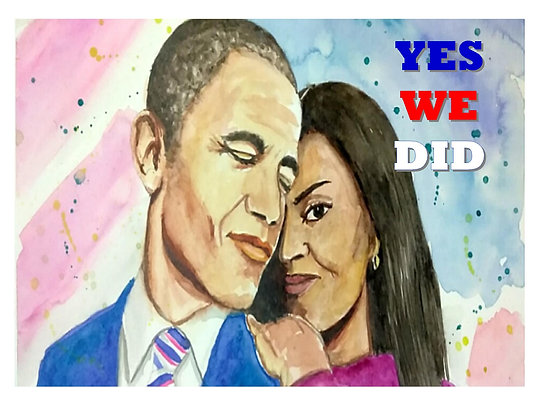 Michele and Barack - YWD Commemorative Print