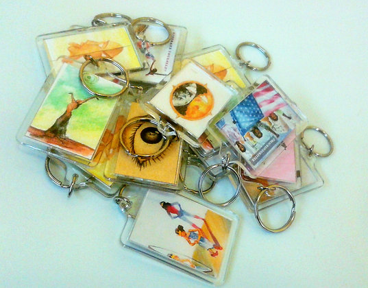 Keychains pact of 11