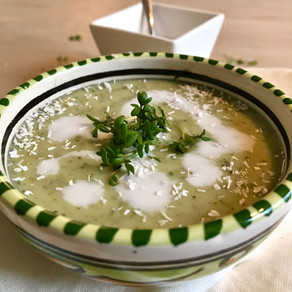 Currysoep broccoli kokos
