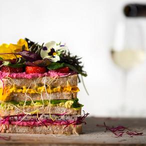 Regenboog Sandwich