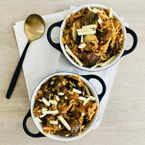 Ovenschotel spitskool en rijst