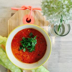 Paprika & Tomaat soep