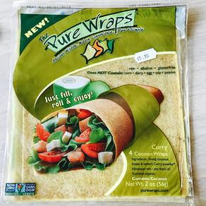 Kokoswraps van 'Pure wraps'