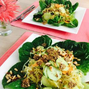 Vegan kelp salad!