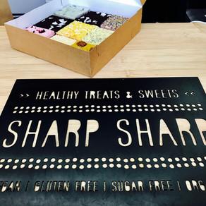 Taartjes van 'Sharp Sharp'