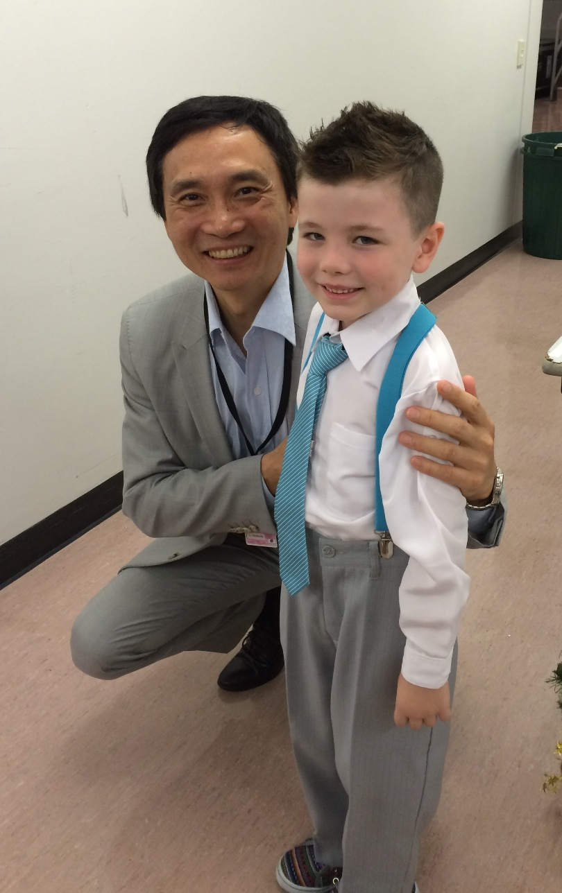 Sullivan G with Li  Cunxin