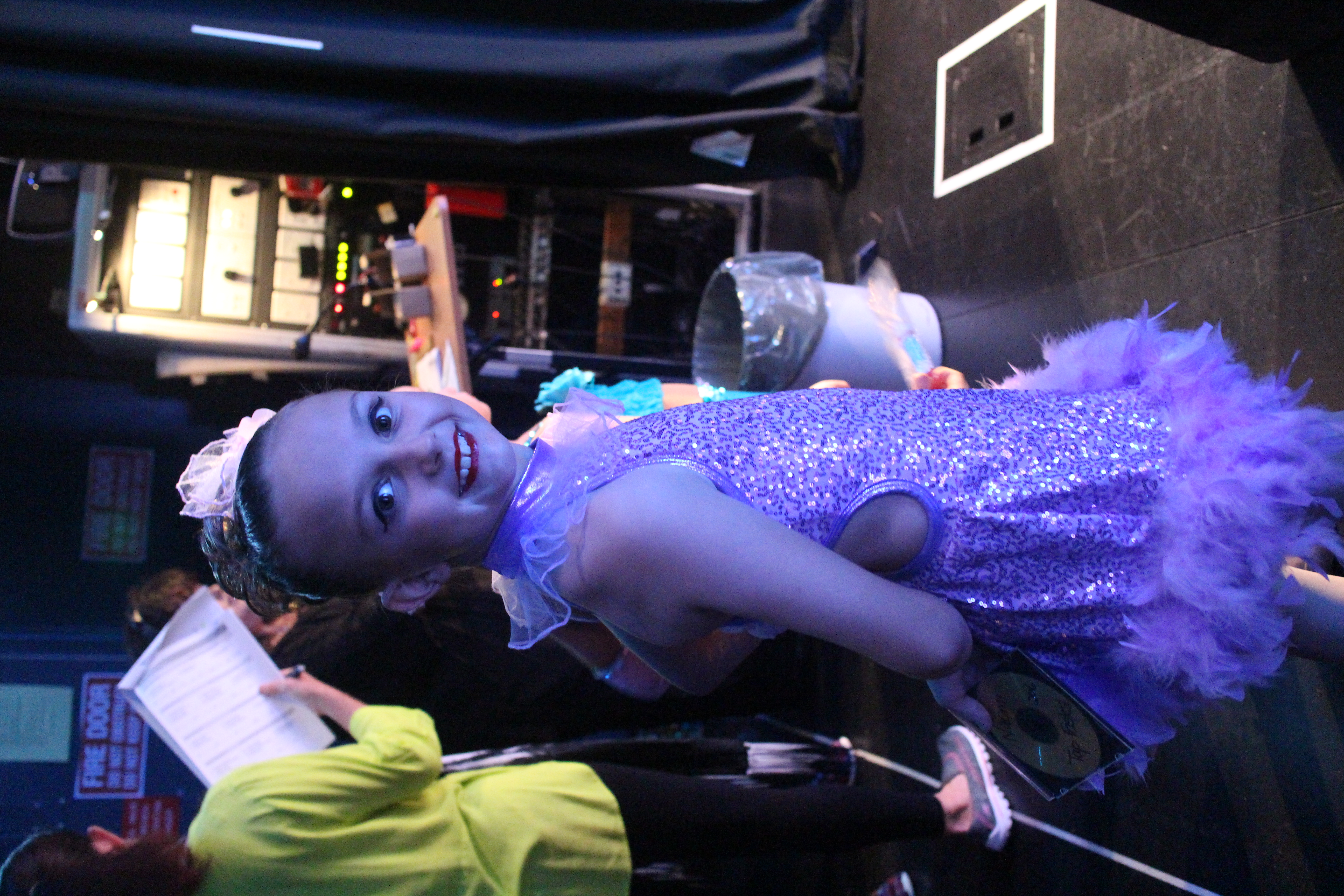 Naomi waiting in the wings!