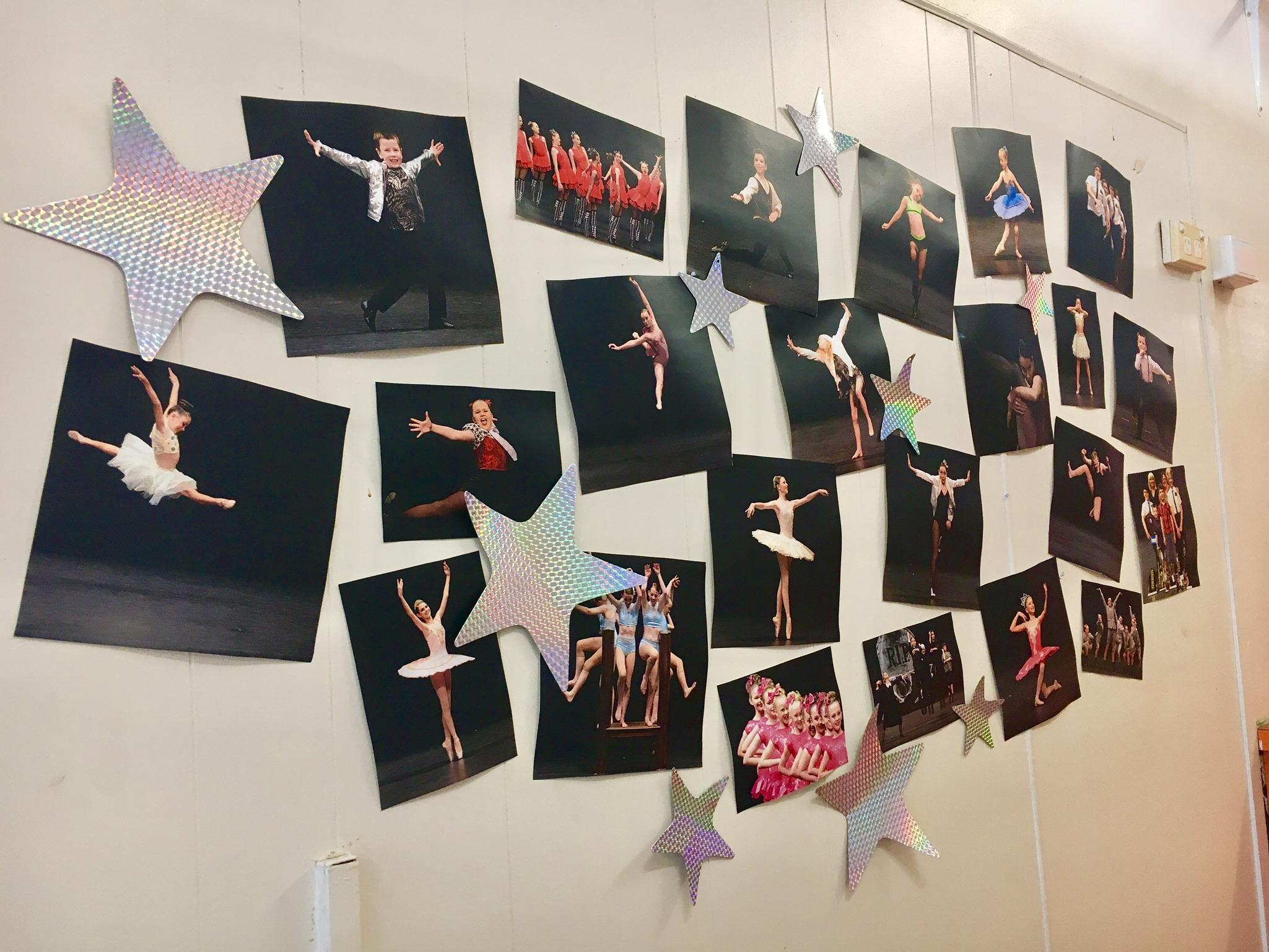 Dance Express Mackay Photo Wall