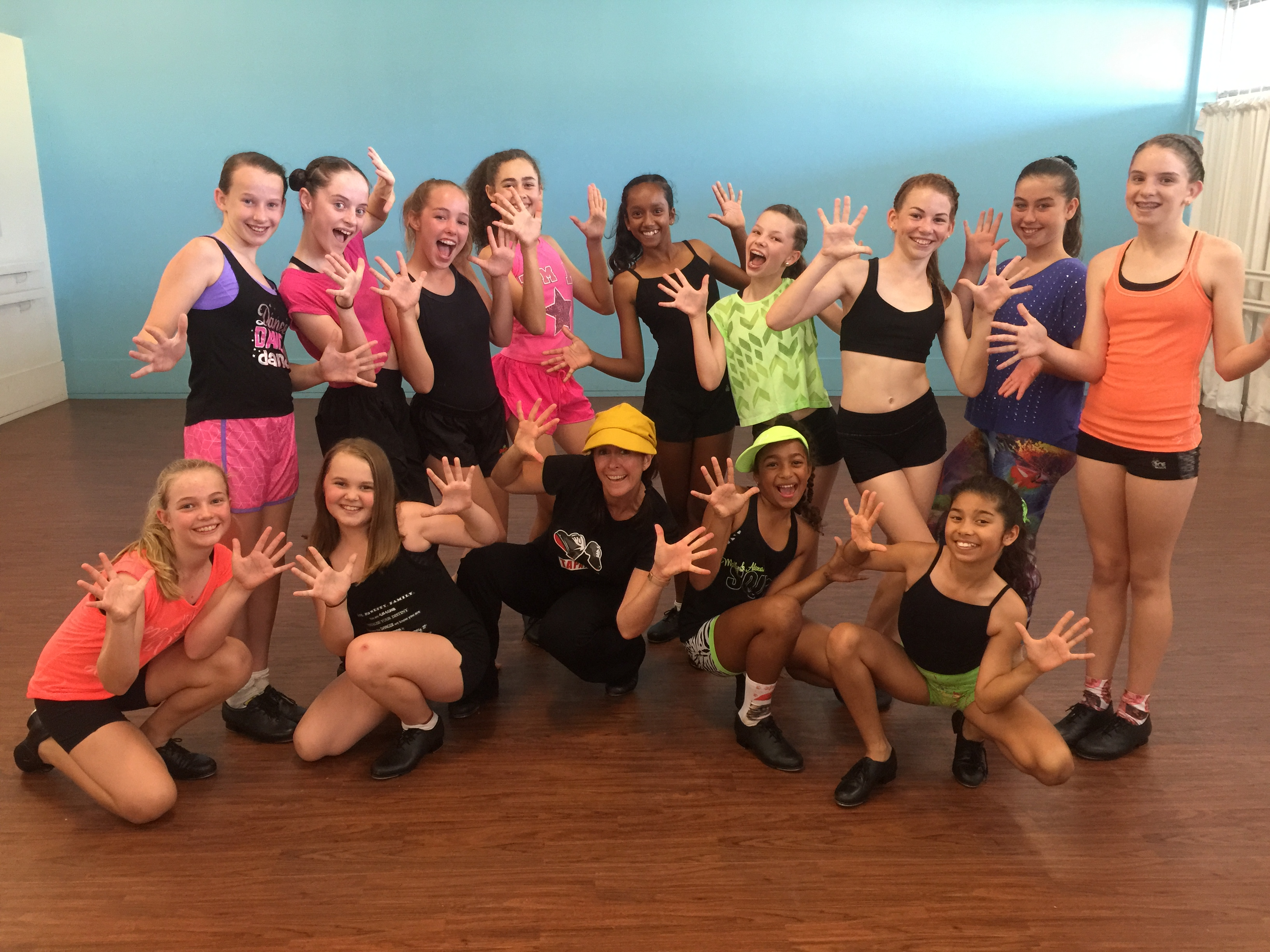We love tap with Miss Christine
