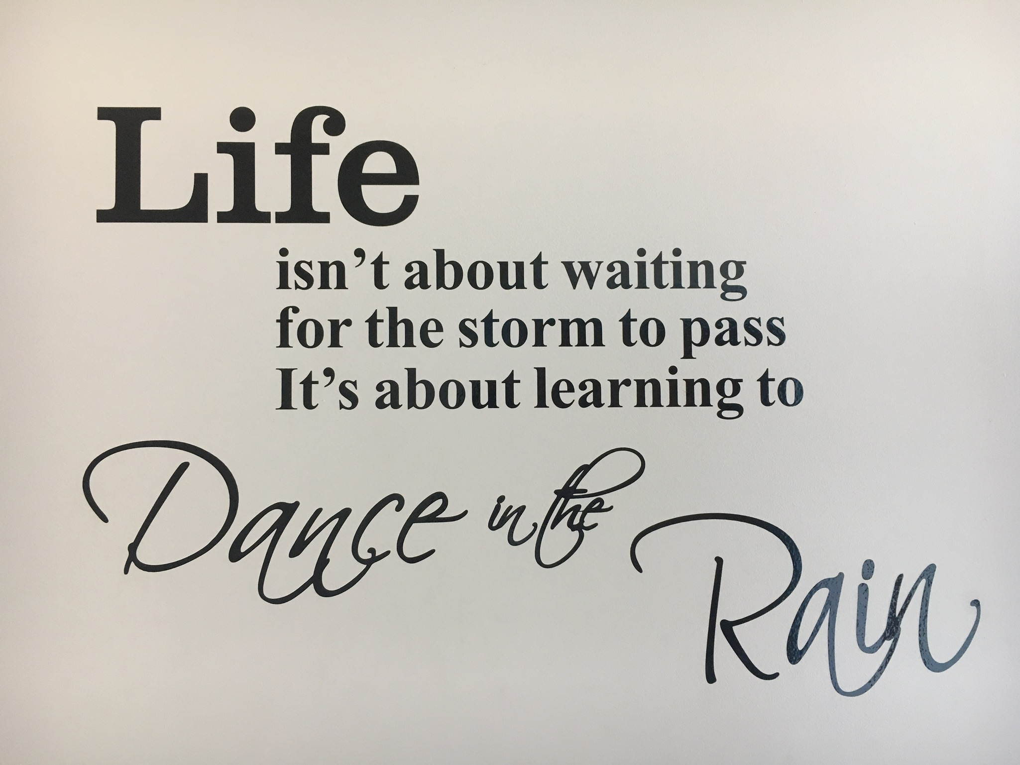 Dance Express Wall Quote