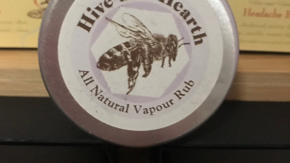 All Natural Vapour Rub 20g