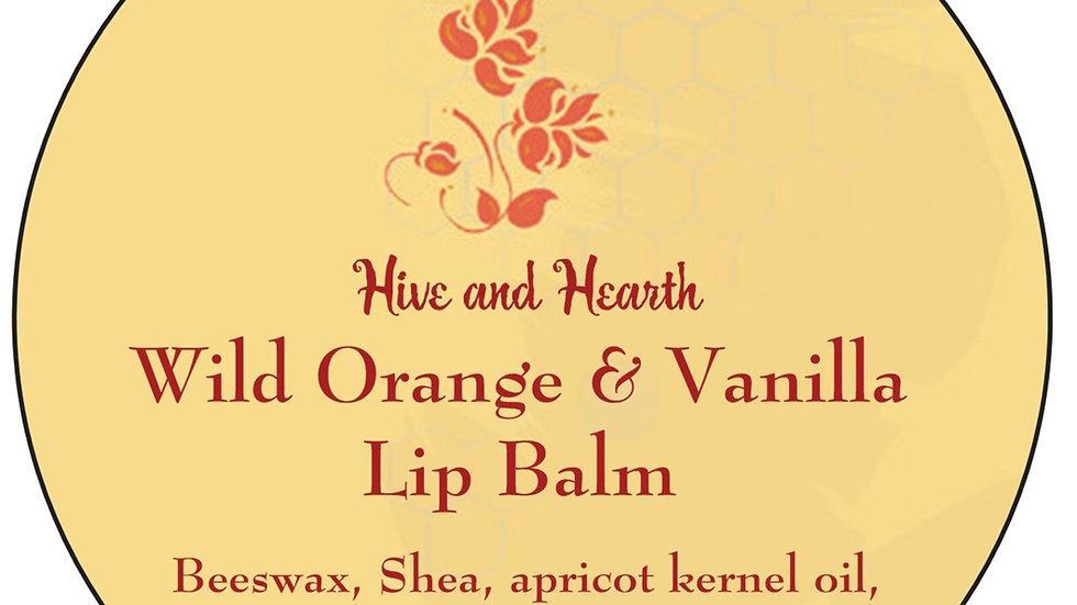 Wild Orange and Vanilla Lip Balm