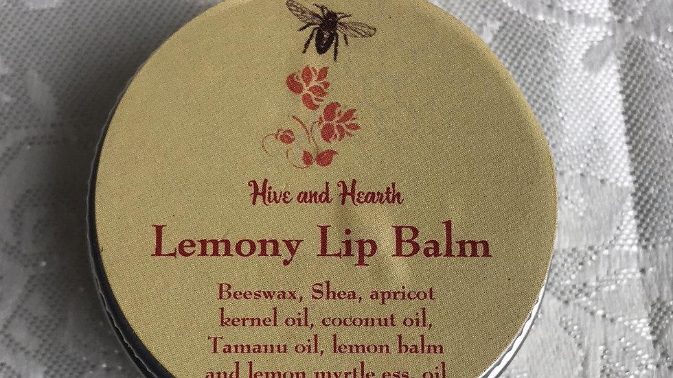 Lemony Lip Balm 10g tin