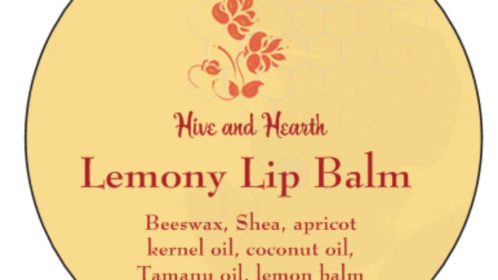 Lemony Lip Balm