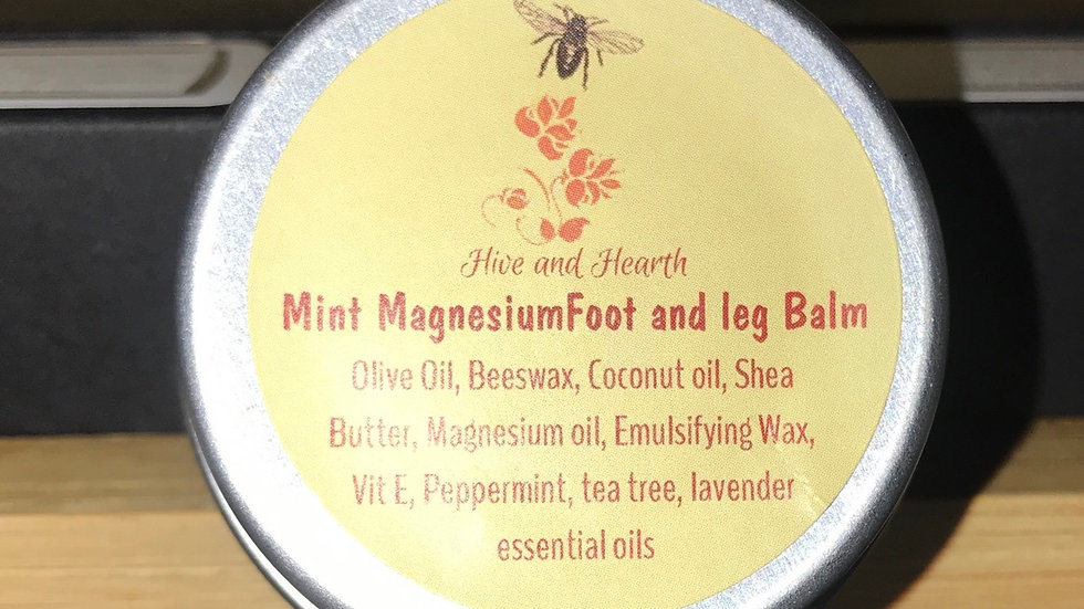 Mint Magnesium Foot and Leg Balm 30g