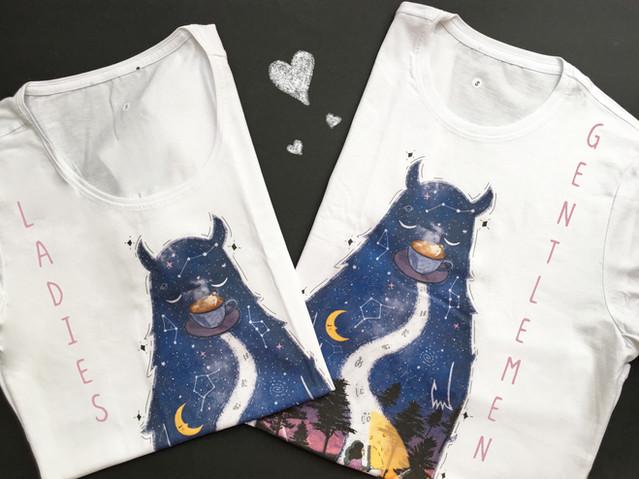 Night walk ladies&gentlemen t-shirt