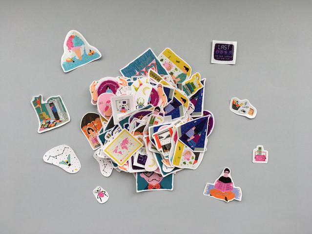 Sticker Dağı
