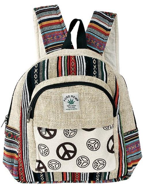 Peace Hemp Day Pack