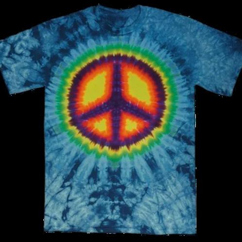 Tye Dye Peace T shirt