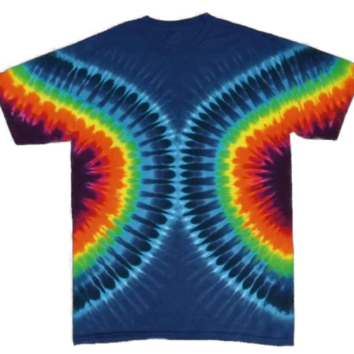 Sunrise Sunset Tye Dye T shirt