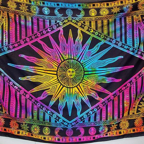 Tie Dye Sun Print Tapestry