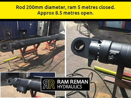 We Repair and Refurbish Hydraulic Rams and Cylinders …