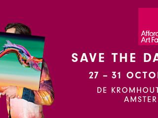 Affordable Art Fair Amsterdam - 27 t/m 31 oktober 2021