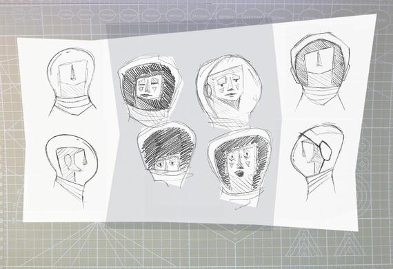 Ludmilla sketches