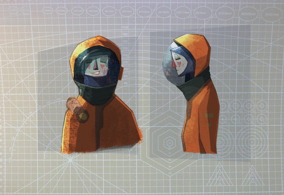 Ludmilla character design
