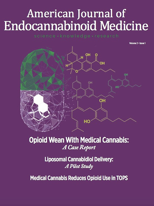 Volume 2 Issue 1- Opioid Wean With Medical Cannabis