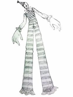 tall clown web