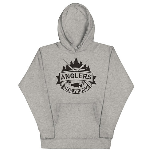 Winter Edition Anglers Happy Hour Unisex Hoodie